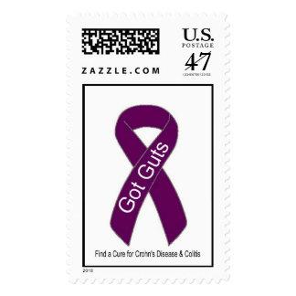 Crohn's Awareness Postage Stamp