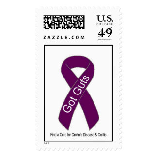 Crohn's Awareness Stamps