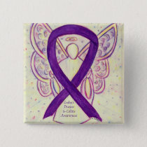 Crohn's Disease and Colitis Awareness Angel Pins