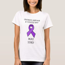 Crohn's Disease and Colitis Day Awareness Shirt