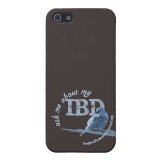 Crohns Disease and Colitis Little Birdie Cover For iPhone 5/5S