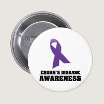 Crohn's Disease Awareness Pinback Button