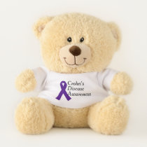 Crohn's Disease Awareness Teddy Bear