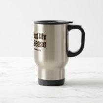 Crohn's Disease Awareness Travel Mug