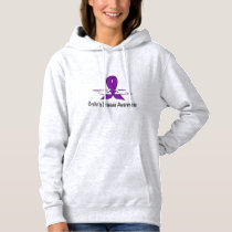 Crohn's Disease Awareness with Swans of Hope Hoodie