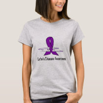 Crohn's Disease Awareness with Swans of Hope T-Shirt