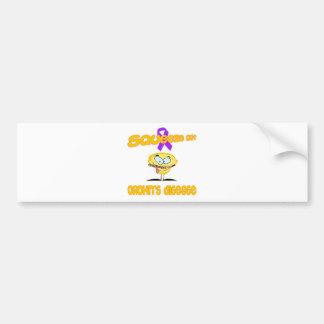 Crohn's Disease Bumper Sticker