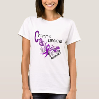 Crohn's Disease BUTTERFLY 3 T-Shirt