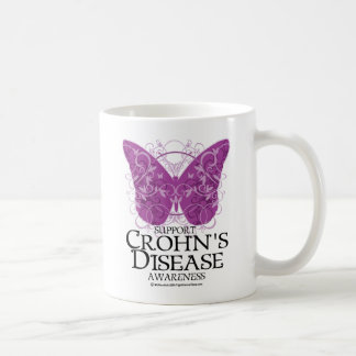 Crohn's Disease Butterfly Coffee Mug