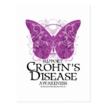 Crohn's Disease Butterfly Post Card