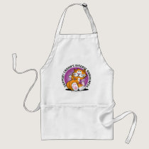 Crohn's Disease Cat Adult Apron