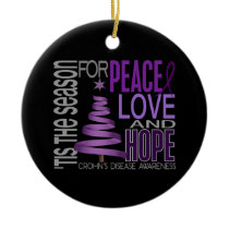 Crohns Disease Christmas 1 Ornaments