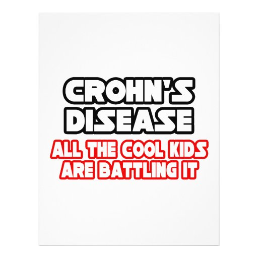 "Crohn's Disease...Cool Kids 8.5"" X 11"" Flyer"