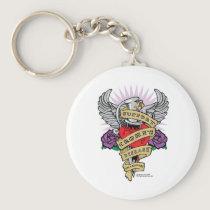Crohn's Disease Dagger Keychain