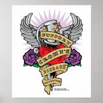 Crohn's Disease Dagger Poster