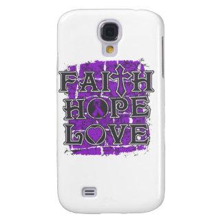 Crohn's Disease Faith Hope Love Galaxy S4 Case