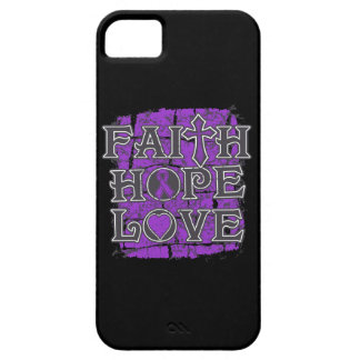 Crohn's Disease Faith Hope Love iPhone 5 Covers