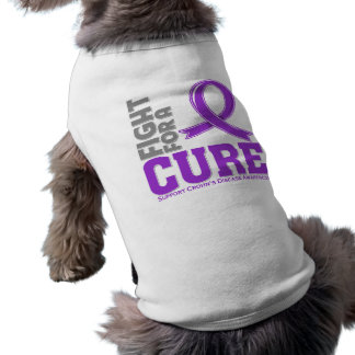 Crohn's Disease Fight For A Cure Dog T-shirt