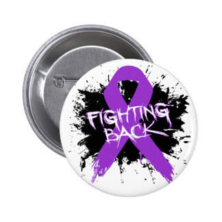 Crohns Disease - Fighting Back 2 Inch Round Button