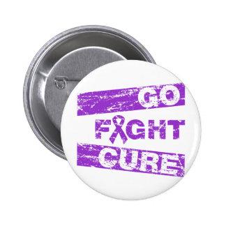 Crohn's Disease Go Fight Cure Button