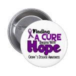 Crohn's Disease HOPE 5 Buttons