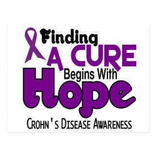 Crohn's Disease HOPE 5 Postcards