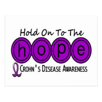 Crohns Disease HOPE 6 Postcard