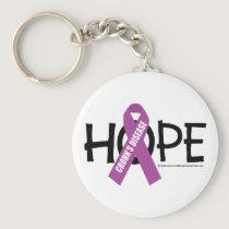 Crohn's Disease Hope Keychain