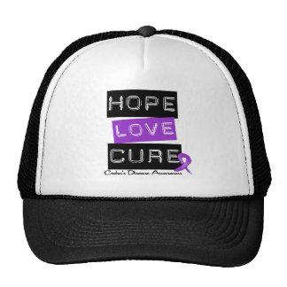 Crohn's Disease Hope Love Cure Trucker Hat