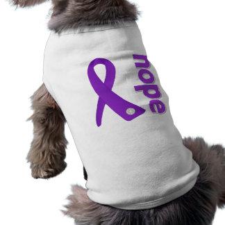 Crohn's Disease Hope Ribbon Dog Clothing