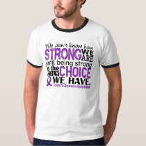 Crohn's Disease How Strong We Are T-Shirt