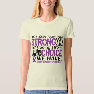 Crohn's Disease How Strong We Are Tees