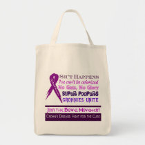 Crohn's Disease Humor Tote Bag