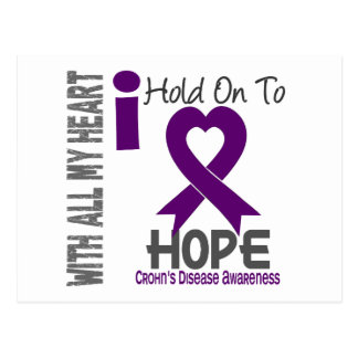 Crohns Disease I Hold On To Hope Postcard