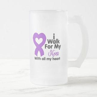 Crohn's Disease I Walk For My Hero Mug