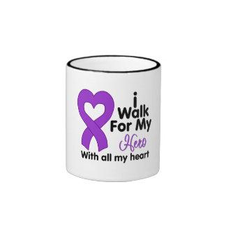 Crohn's Disease I Walk For My Hero Mugs