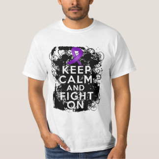 Crohns Disease Keep Calm and Fight On Tees