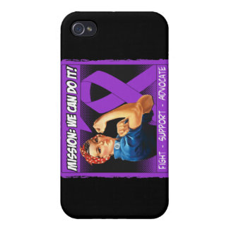 Crohns Disease Mission We Can Do It iPhone 4/4S Covers