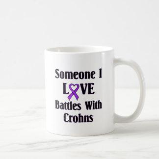 Crohns Disease Classic White Coffee Mug