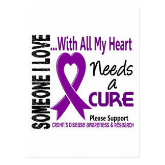 Crohns Disease Needs A Cure 3 Postcard