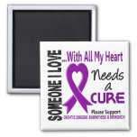 Crohns Disease Needs A Cure 3 Refrigerator Magnet