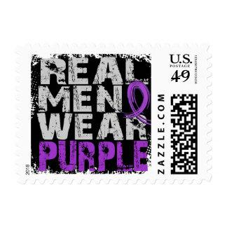 Crohn's Disease Real Men Wear Purple Postage
