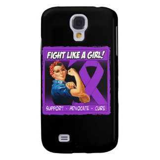 Crohn's Disease Rosie Riveter Fight Like A Girl Galaxy S4 Covers