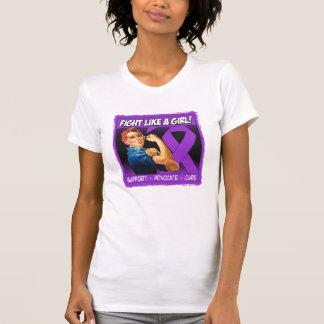 Crohn's Disease Rosie Riveter Fight Like A Girl T Shirts