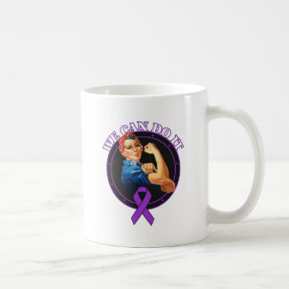 Crohn's Disease - Rosie The Riveter - We Can Do It Coffee Mug