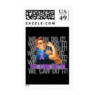 Crohn's Disease Rosie WE CAN DO IT Stamp