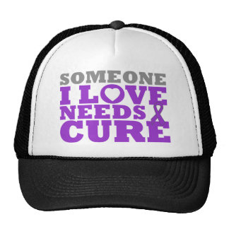 Crohn's Disease Someone I Love Needs A Cure Trucker Hat