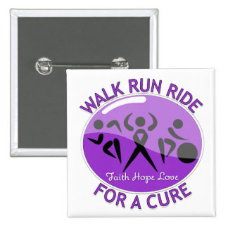 Crohn's Disease Walk Run Ride For A Cure Buttons
