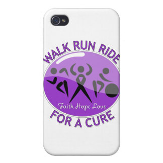 Crohn's Disease Walk Run Ride For A Cure iPhone 4 Cover