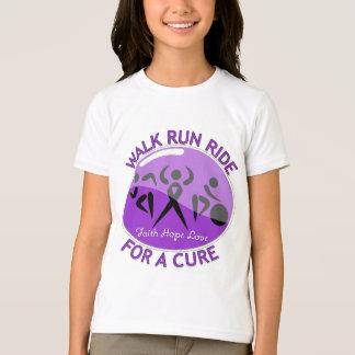Crohn's Disease Walk Run Ride For A Cure T-Shirt